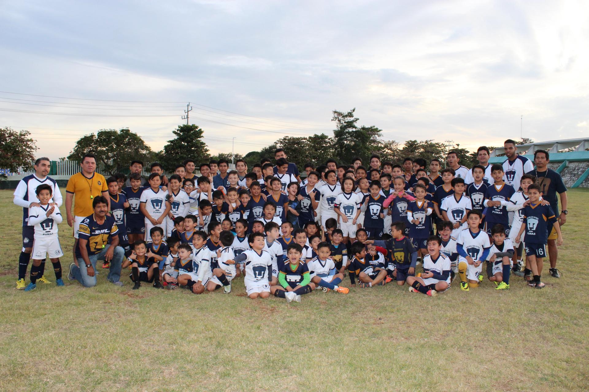 Sympton Quejar Mirar atrás  Celebran 16 aniversario de Escuela de Futbol Pumas Campeche – HOLA CARMEN