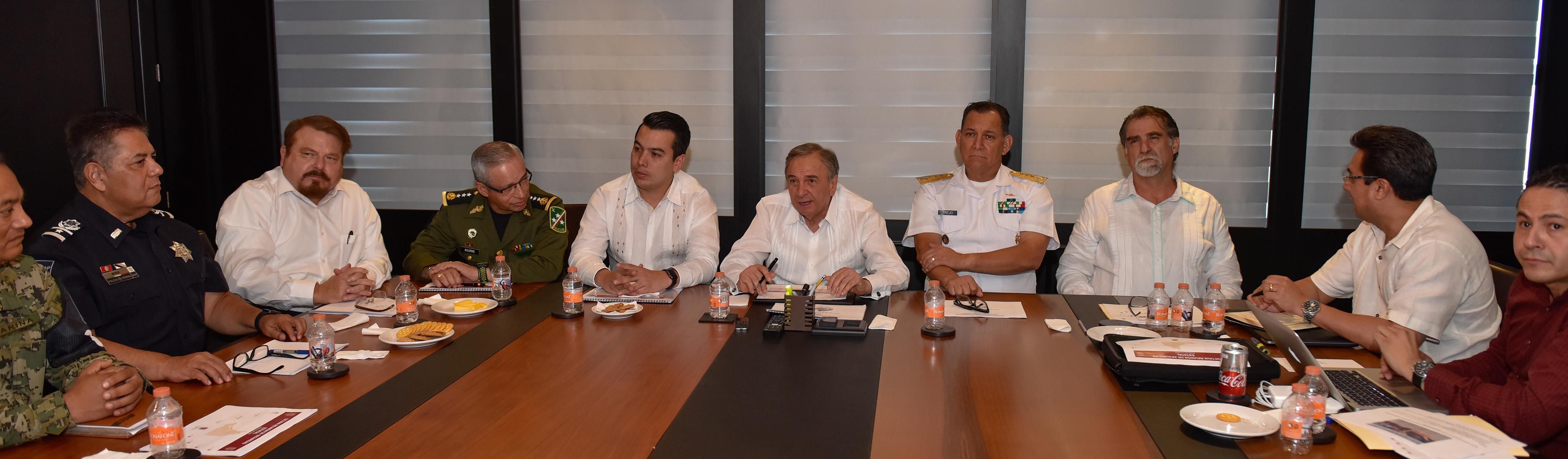 REUNIÓN SEGURIDAD DEL GOBERNADOR CMAG-
