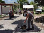 EFM atendiendo los servicios públicos de la comunidad de Lerma.