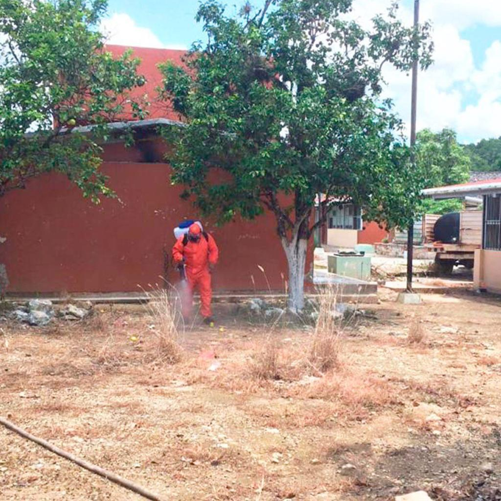 Inifeec atendió los reportes de las escuelas afectadas durante las lluvias severas del 29 de mayo al 6 de junio 2020.