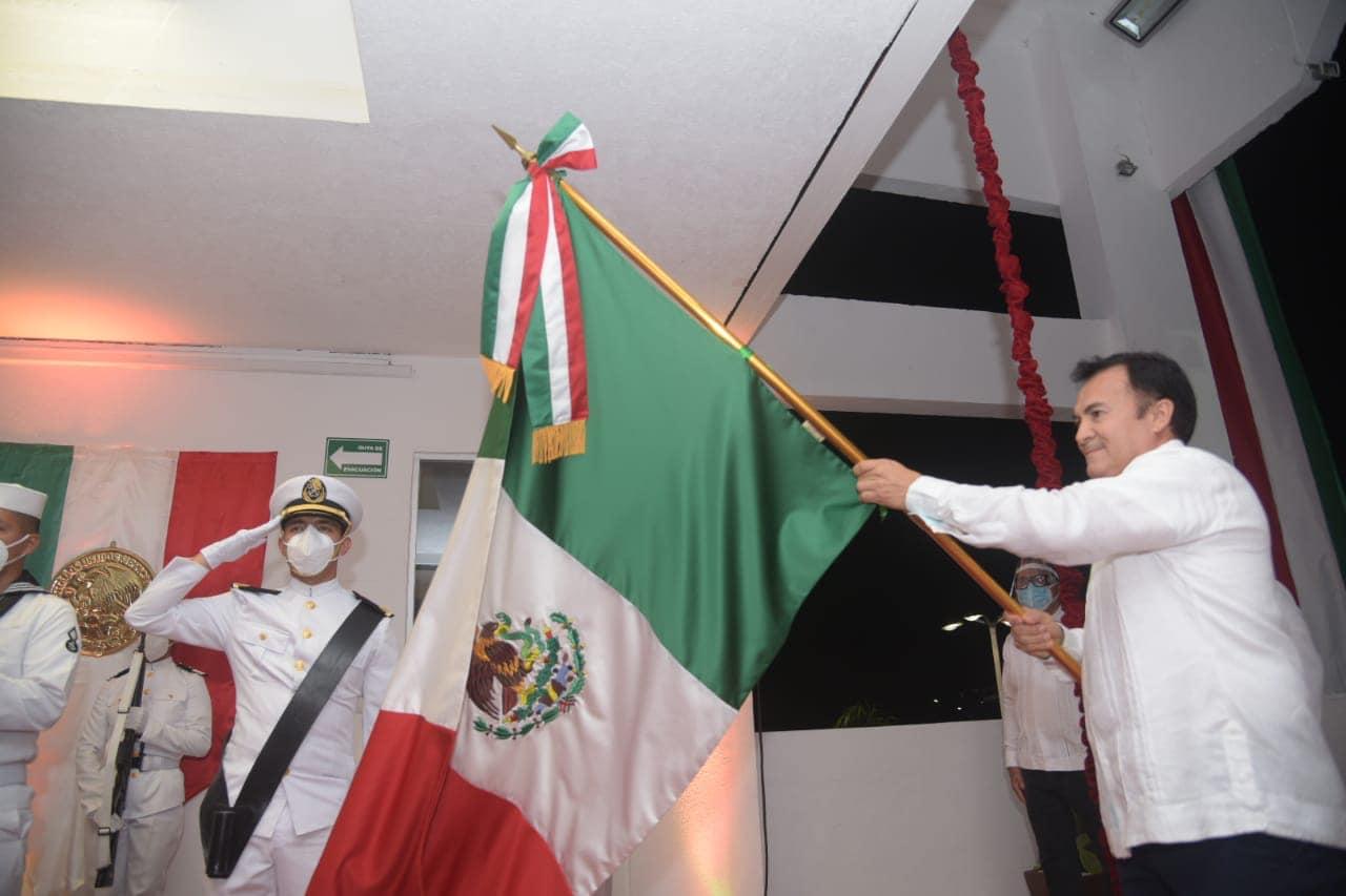 Ceremonia por el 210 Aniversario del I️nicio de la Lucha de la Independencia de México.